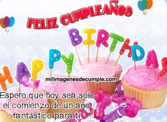 Frases De Cumpleanos De Buena Vibra: Imágenes De Feliz Cumpleaños Con Frase De Buenos Deseos