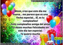 Divertida felicitación de cumpleaños para amigas